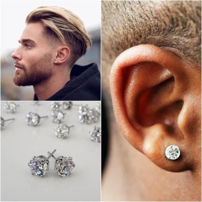 Best Men's Ear Piercing Ideas – Where to Buy Mens Earrings