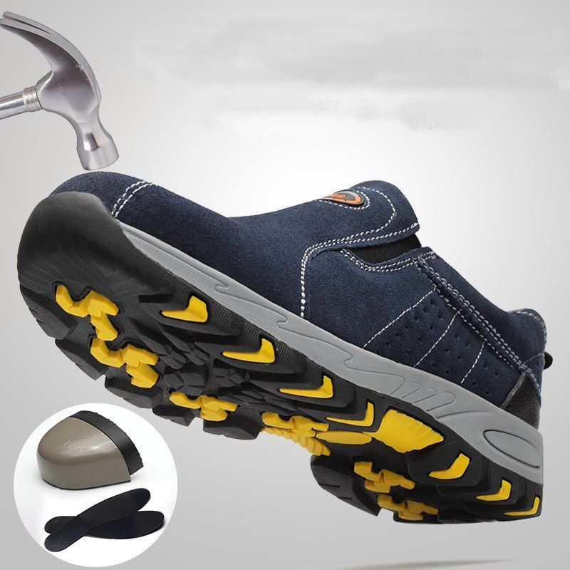 Best Steel Toe Work Shoes For Men – Slip-on Safety Shoes