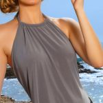 Best Swimsuits for Women Over 40, 50, 60 | Boomerinas.com #beachfashionforwomen