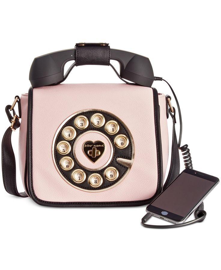 Betsey Johnson Phone Crossbody & Reviews – Handbags & Accessories – Macy's