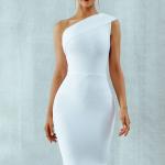 Black Fitted Bandage Dress | NebsGEMS