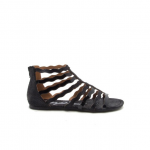 Black Gladiator Sandal These fresh gladiator sandals are a staple for 2018. Grea...
