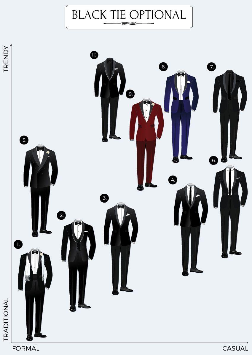 Black Tie Optional Dress Code Guide