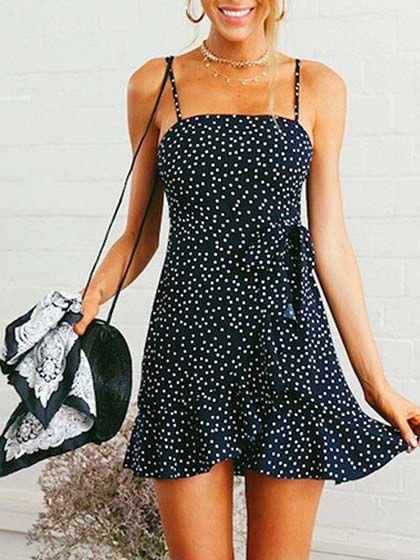 Blue Halter Plunge Sheer Mesh Panel Chic Women Crop Cami Top   Choies