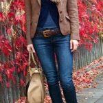 Blue skinny jeans womens