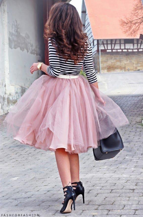 Blush Tulle Skirt for Women from dressydances