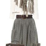 Bohemian Chic Winter Outfits und Boho Style-Ideen,  #bohemian #Boho #bohoChicabiti #Chic #Out...