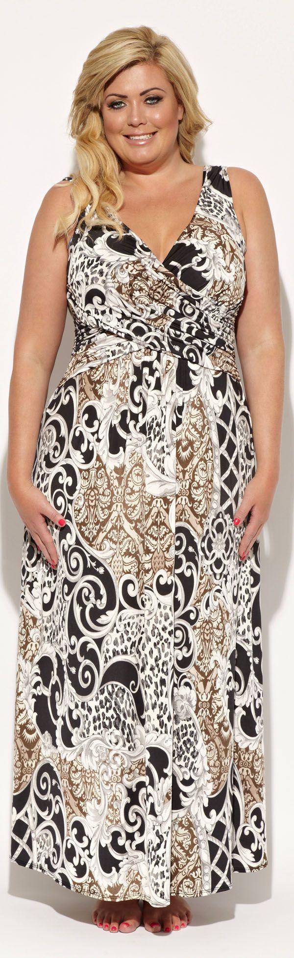 Boho Chic Maxi Dresses in Plus Sizes at boomerinas.com/…