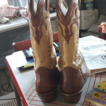 Boulet Boots size 8 Very nice boots.  I've worn them riding a few times. They ar...