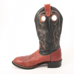 Boulet Leather Cowboy Western Boots Women's Size 7 These leather Boulet boots ar...