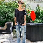 Boyfriend jeans - 70 ideas how to wear it? - Archzine.fr - Carole