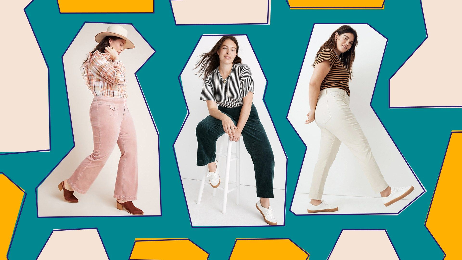 Brands have finally found a way to make plus-size corduroy clothing look chic en…