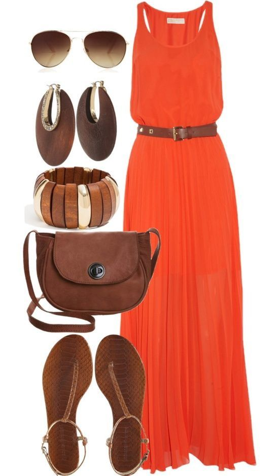 Burnt Orange Dresses (4)