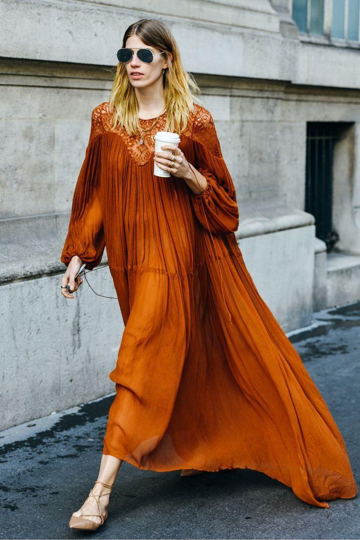 #Burnt #Orange #Dresses