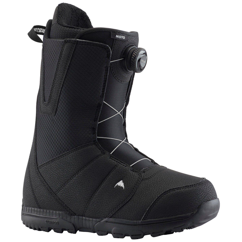 Burton Moto Boa Snowboard Boots 2020 – 10 in Black
