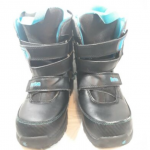 Burton Snowboarding Boots Black Blue Grom Youth 5 Burton Youth Size 5 Grom Boa S...