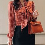 Buy  Blouses For Women from At.$$ at Stylewe. Online Shopping Stylewe Long Sleev...