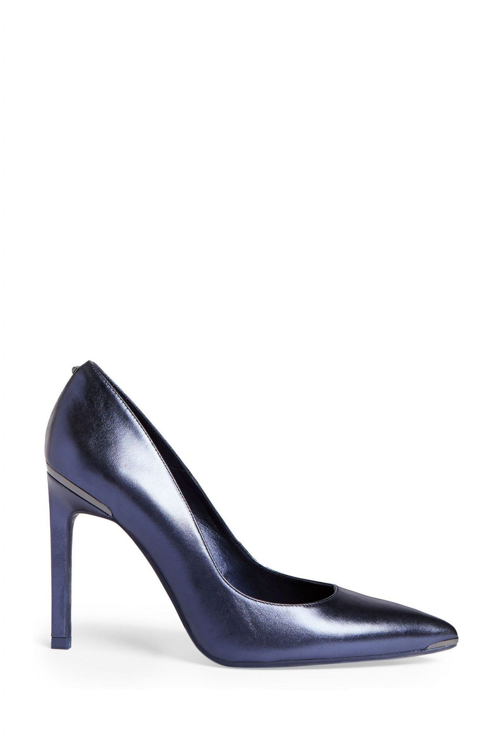 Buy Ted Baker Blue Metallic Court Shoes from the Next UK online shop