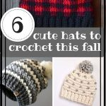 CROCHET PATTERN - Rainer Crochet Slouchy Hat Pattern - Striped Crochet Slouchy Hat Pattern - Easy Crochet Pattern - Striped Crochet Hat