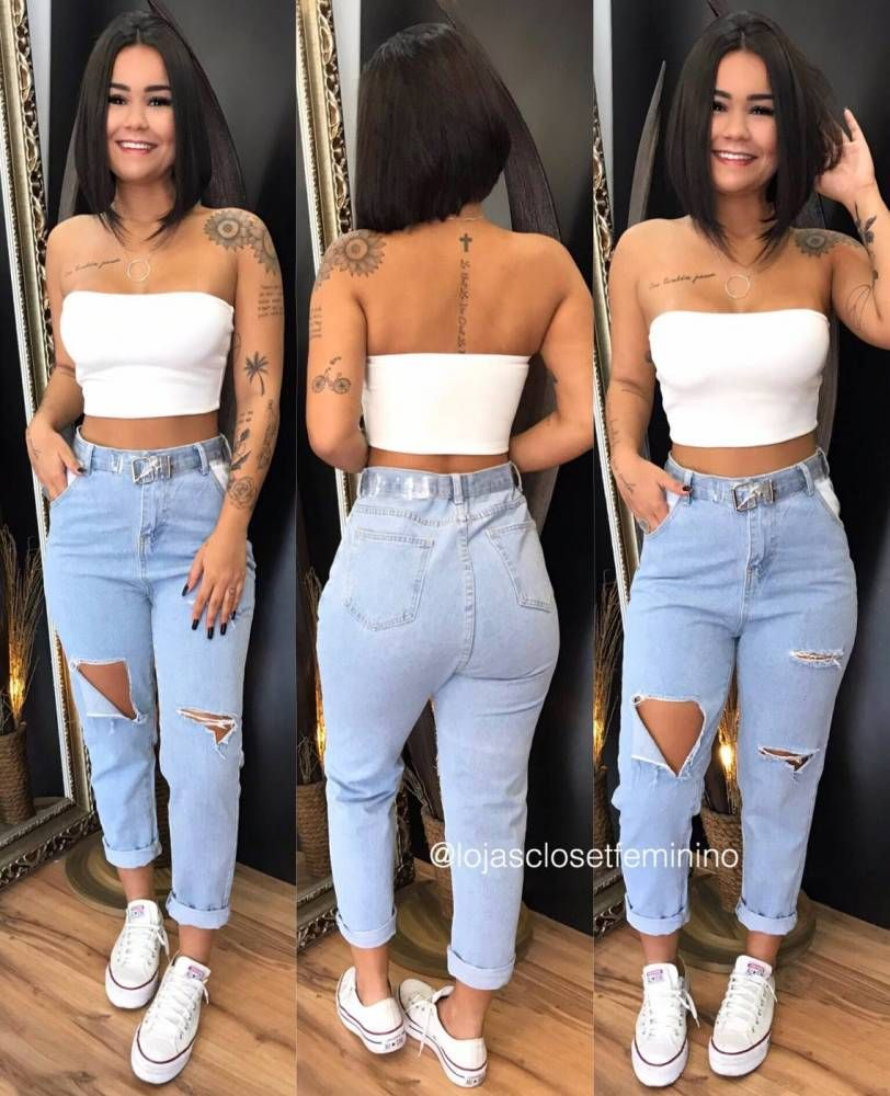 Calça Jeans Destroyed CL956512