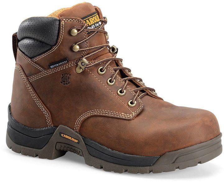 Carolina Men's Bruno Lo 6#double; Waterproof Work Boots