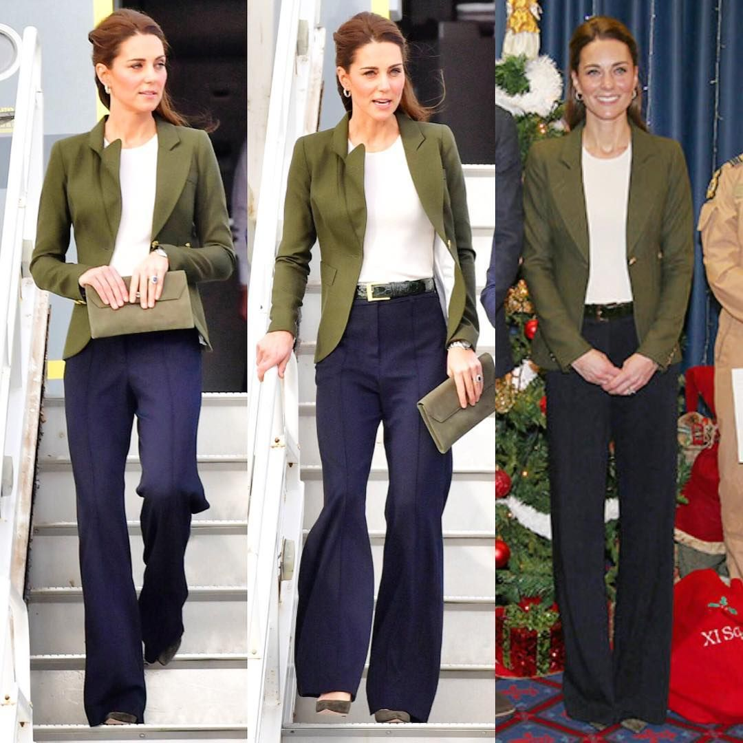 """Caroline Covets on Instagram: """"Casual Chic in Cyprus! Duchess Kate wore her gr…"""