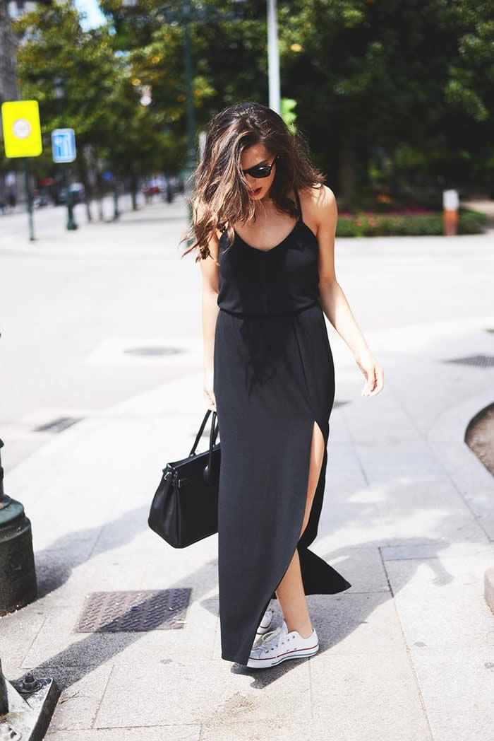 Casual Maxi Dress Outfit Ideas