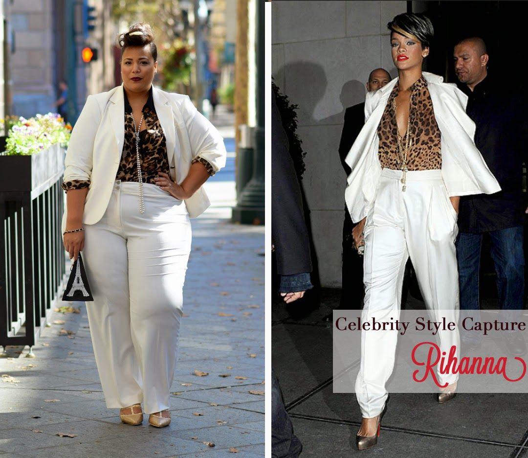 Celebrity Style Capture: Rihanna (Garnerstyle)