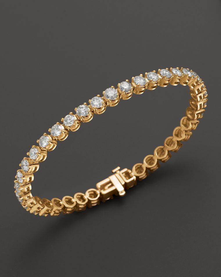Certified Diamond Tennis Bracelet in 14K Yellow Gold, 2.50 ct. t.w. – 100% Exclusive