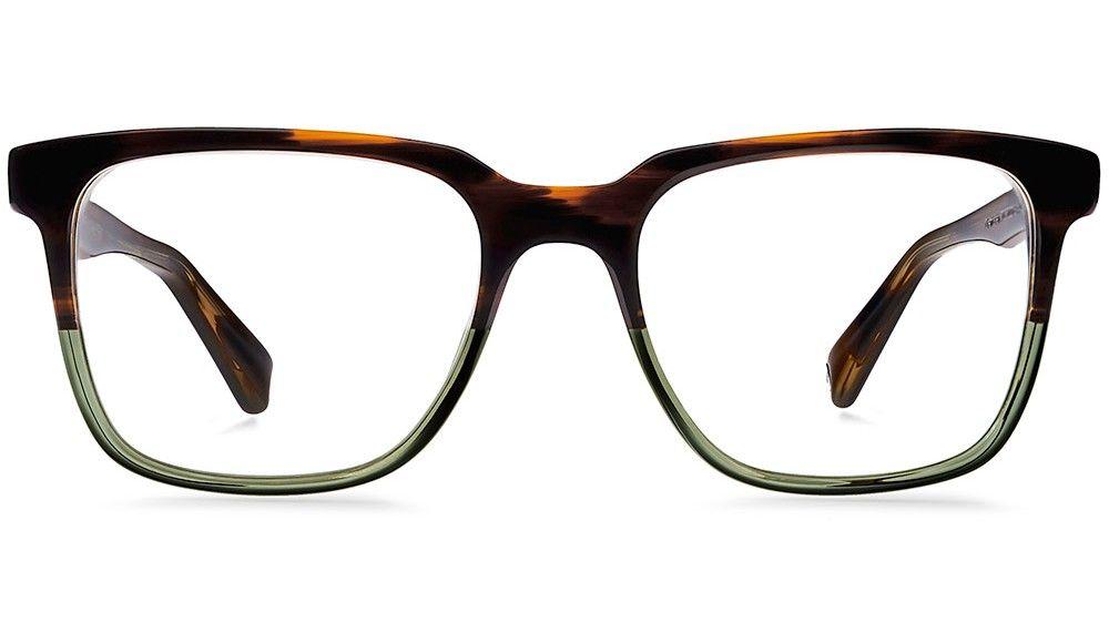 Chamberlain Saddle Sage Eyeglasses   Warby Parker