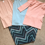 Chevron Printed Ladies Pants Super cute and buttery soft fabric Ladies chevron p...