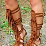 Chippewa Gladiator Sandal by Southern Fried Chics - Tan