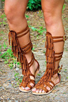 Chippewa Gladiator Sandal by Southern Fried Chics – Tan