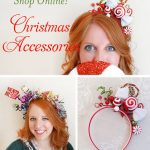 Christmas hair accessories for women, Christmas headbands for women, Ugly Sweate...