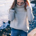 Chunky Knit Sweater and Skinny Jeans
