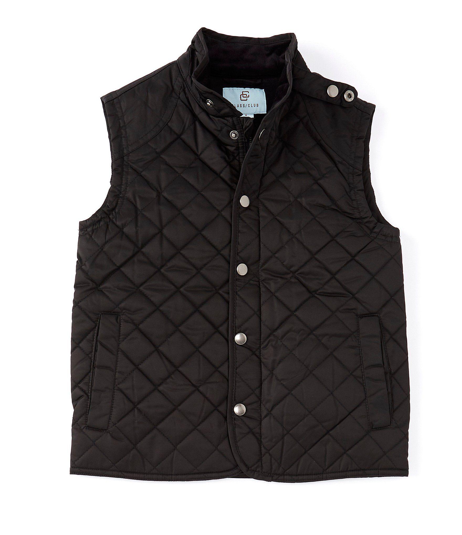 Class Club Big Boys 8-20 Fleece-Lined Quilted Vest | Dillard's