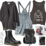 Clothes Grunge Dreams - Conseils MODE LES INDISPENSABLES DU LOOK GRUNGE