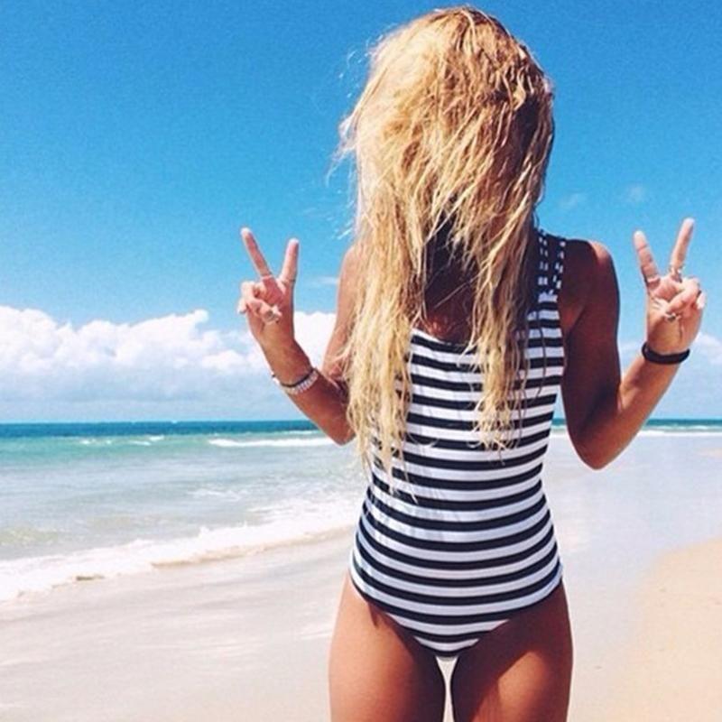 Coast Striped One Piece