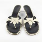 Cole Haan Kitten Heel Thongs Beige Nude 8.5 Cole Haan Kitten Heel Sandals. Beige...