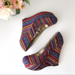 Colorful Fiesta Mossimo wedge platform heels * Colorful Mossimo wedge platform h...