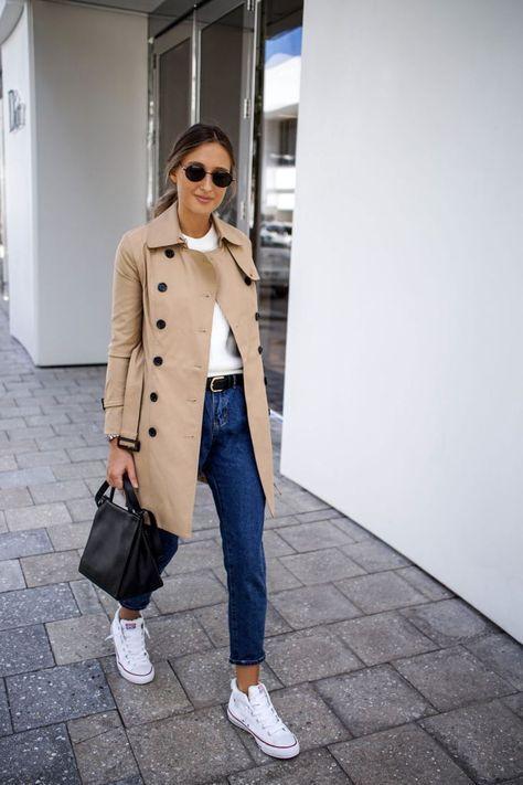 Comment porter un trench-coat à 40 ans