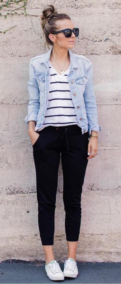 Como usar jaqueta jeans