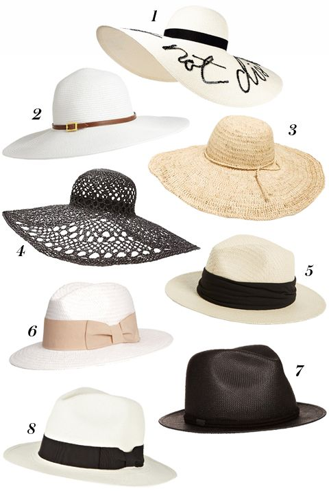 Consider This Your One-Stop-Shop for All of Summer's Chicest Hats
