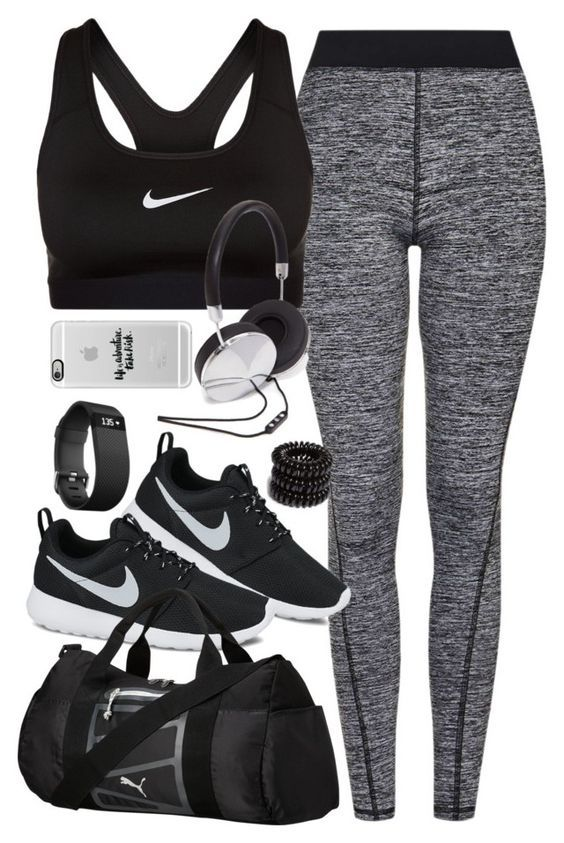 Cool stylish summer #workout outfits for women. #WomensClothing
