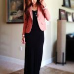 Corporate Outfit Ideas with Maxi Dresses