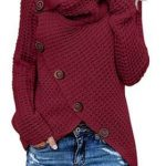 Costbuys Long Sleeve Knit Sweater Sets Bodice Ladies Woman Womens Pullover Long Sleeve Sweaters