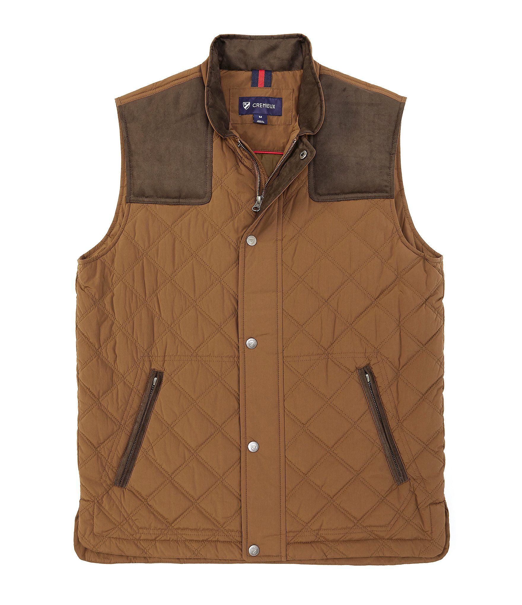 Cremieux Martin Brushed Quilted Vest | Dillard's