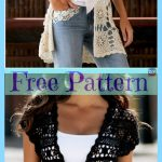 Crochet Lace Summer Tops - Free Patterns - DIY 4 EVER