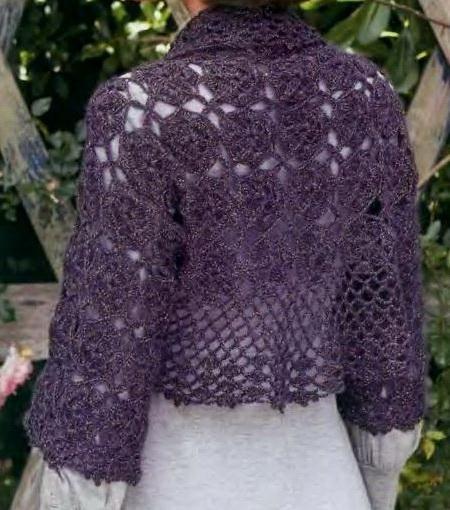 Crochet Sweater: Shrug Sweater – Crochet Shrug Pattern