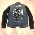 Custom men's medium rock 'n' roll punk rock jacket Custom men's medium r...